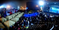 Фоторепортаж: «Ситуация на Майдане 25 ноября: митинг за евроинтеграцию »
