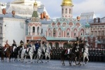 парад на Красной площади : Фоторепортаж