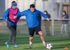 Тренировка «Зенита» перед матчем Лиги Чемпионов с «Атлетико»: Фоторепортаж