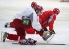 тренировка сборной России по хоккею: Фоторепортаж