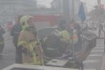 """Пожар в здании театра """"Школа современной пьесы"""" 3 ноября 2013 года: Фоторепортаж"""