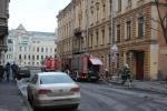 В центре Петербурга горит бизнес-центр «Боллоев»: Фоторепортаж