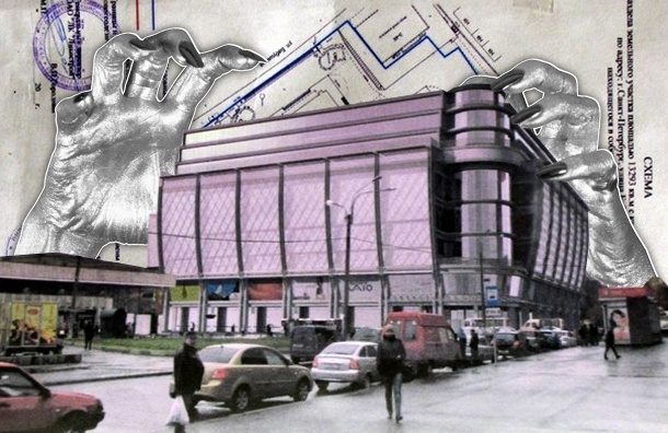 В Петербурге на месте кинотеатра