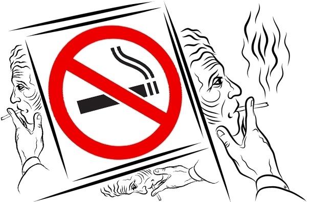 С 15 ноября за курение в неположенных местах будут штрафовать – памятка курильщику