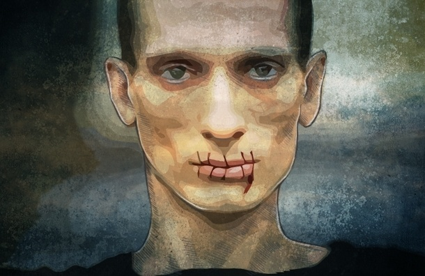 Художник Петр Павленский: Рожать - больно. Прибивать гениталии к брусчатке - нет