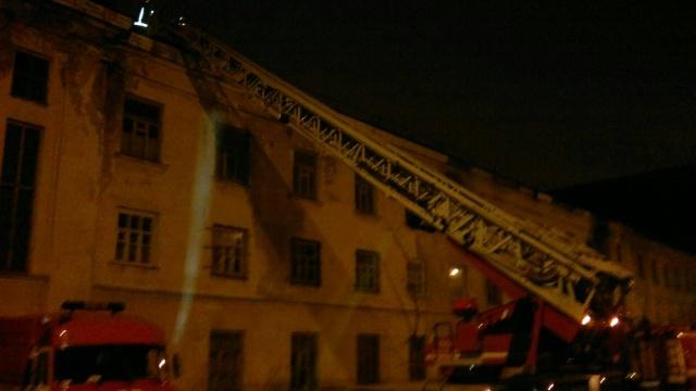 В Петербурге горел цех «Металлического завода»: Фото