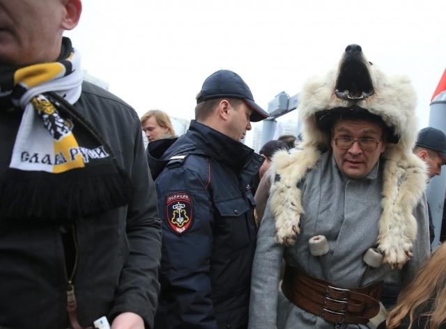 Русский марш в Москве, 4 ноября 2013: Фото