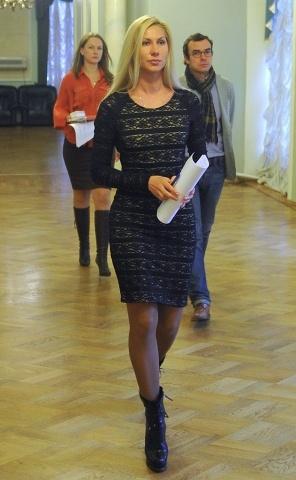 Пресс-конференция О.Дерипаско, посвященная ситуации с бизнесменом С.Полонским : Фото