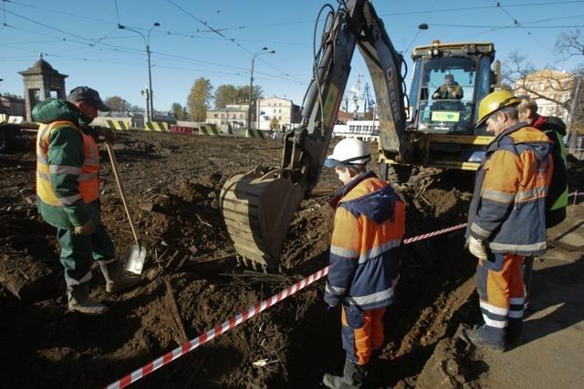 Закрытие на ремонт Старо-Калинкиного моста 7 ноября 2013 года : Фото