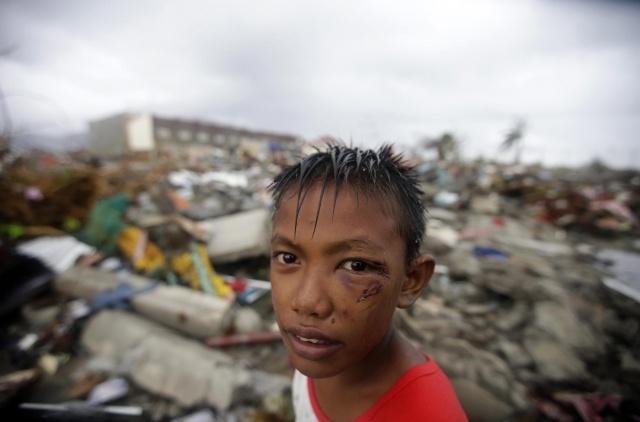 """тайфун """"Хайян"""" на Филиппинах 10 ноября: Фото"""