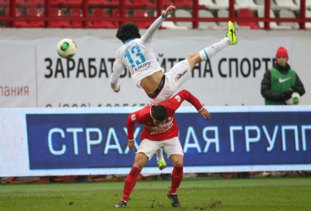 Зенит - Спартак 10 ноября 2013 года : Фото