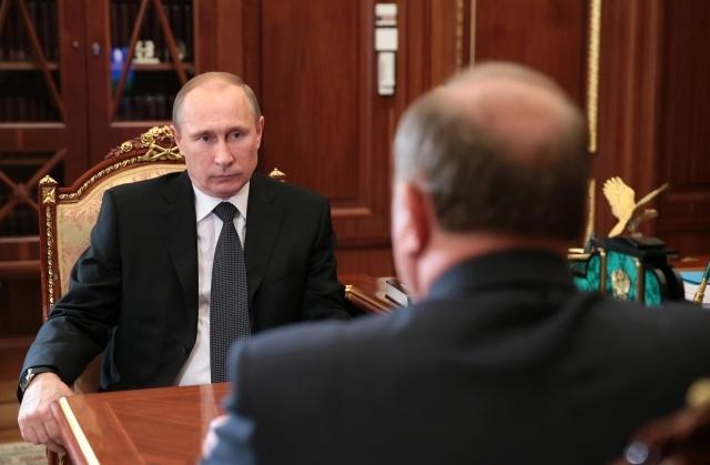 Встреча Путина с Зюгановым 19 ноября : Фото