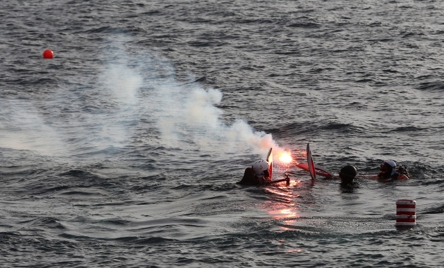 Эстафета Олимпийского огня на Байкале: Фото
