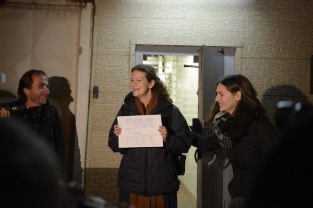 Освобождение Гринпис - первая освобожденная, Анна Паула, Бразилия: Фото