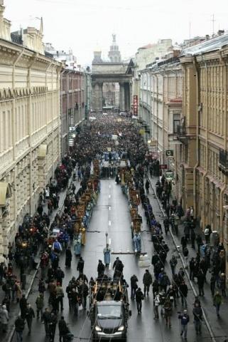 Крестный ход Петербург, 4 ноября 2013 (2): Фото
