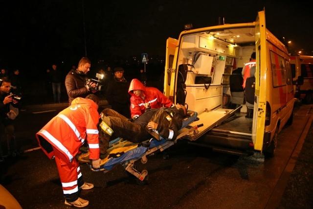 Обрушение ТРК Максима в Риге 21 ноября 2013 года: Фото