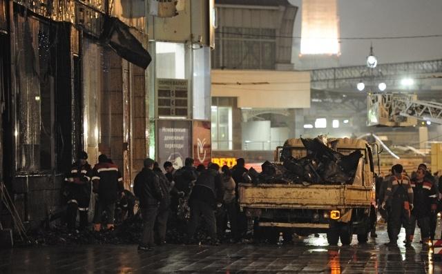 """Пожар в ТРЦ """"Европейский"""" в Москве 25 ноября : Фото"""