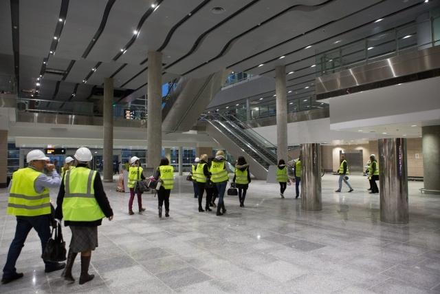 Новый терминал аэропорта Пулково: Фото