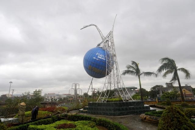 "тайфун ""Хайян"" во Вьетнаме 11 ноября : Фото"