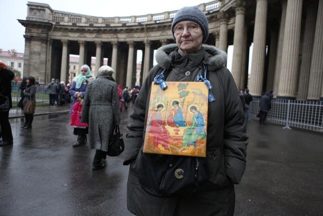 Крестный ход Петербург, 4 ноября 2013: Фото