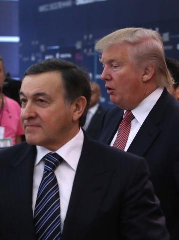 Дональд Трамп в Москве: Фото