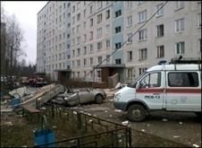 Взрыв газа в Подмосковье 11 ноября 2013 года : Фото