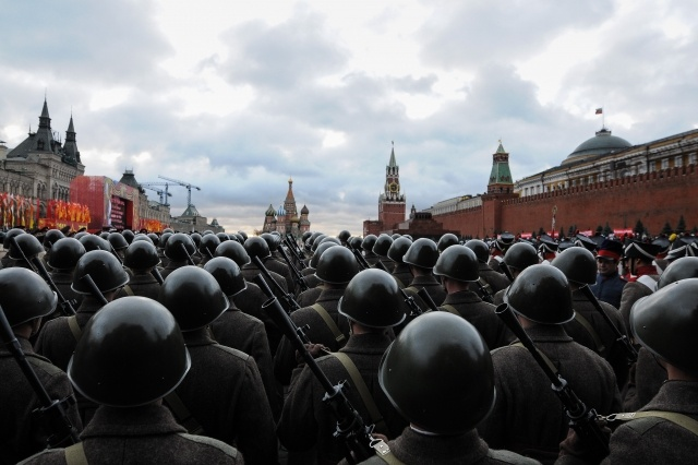 парад на Красной площади : Фото