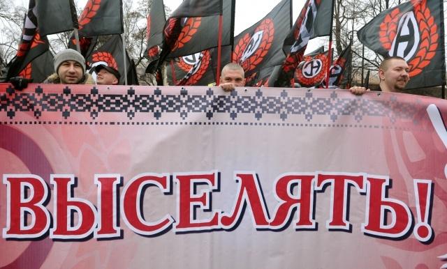 Русский марш в Петербурге, 4 ноября 2013 (2): Фото
