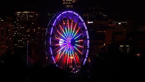 Проект Нью-Йоркского колеса обозрения : Фото
