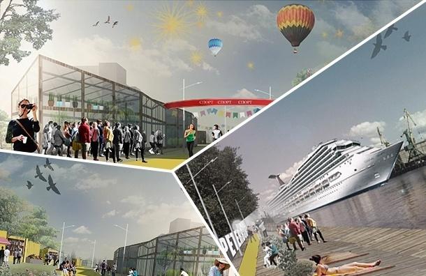 Молодые архитекторы ломают голову, как из Канонерки сделать современный остров