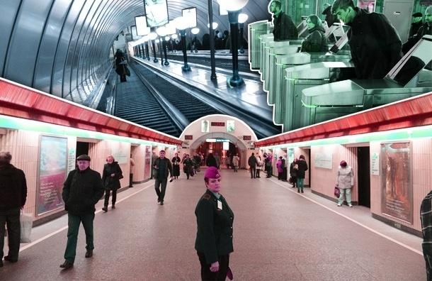 Станция метро «Петроградская» помолодела после ремонта