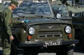 В Волхове полицейский уазик протаранил иномарку, двое пострадали
