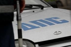 В ДТП с микроавтобусом на Пулковском шоссе пострадали четыре человека