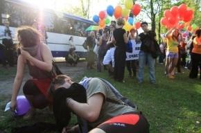 Православному активисту, обстрелявшему ЛГБТ-митинг, грозит год колонии