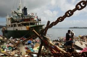МЧС сообщило о россиянах в зоне действия филиппинского тайфуна