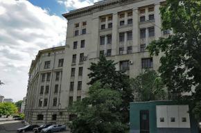 В центре Москвы горит всероссийский НИИ радиотехники