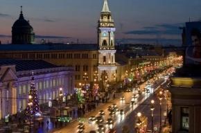 Невский проспект закроют 31 декабря в 21:00