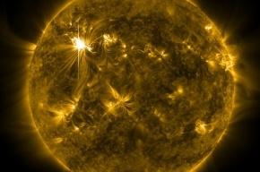Рентгеновская вспышка высшей мощности произошла на Солнце