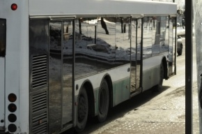 В Петербурге 15-летняя пассажирка автобуса пострадала при резком торможении