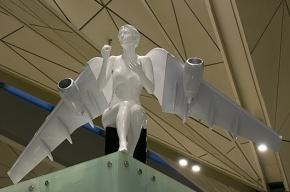 Ангелы-самолеты в «Пулково» напугали пассажиров