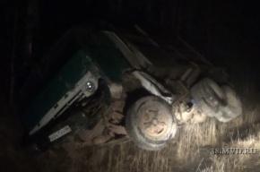 Под Иркутском в ДТП с грузовиком погибли четыре человека