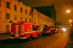 В Петербурге ночью произошел пожар на территории завода «Силмаш»