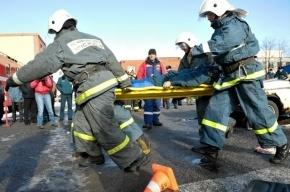 Водитель Scania погиб, столкнувшись с «водовозом» на дамбе