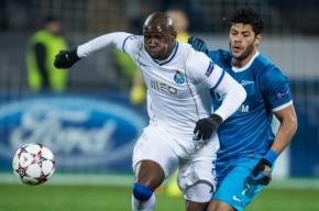 «Зенит» сыграл с «Порту» вничью в матче Лиги чемпионов