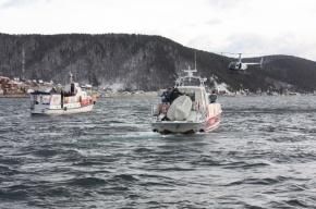 Олимпийский огонь впервые погрузили на дно Байкала
