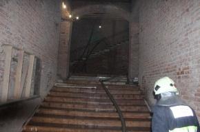 В исторической части Петербурга ликвидирован крупный пожар