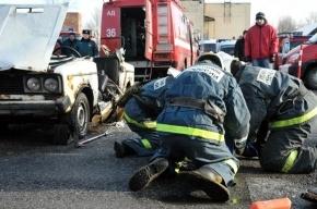 Две женщины пострадали в ДТП на проспекте Ветеранов