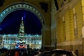 К Новому году на Дворцовой площади установят искусственную ель