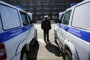 В Ленобласти столкнулись автомобили ДПС и «Почты России»