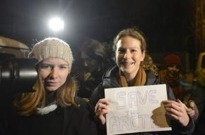 Из СИЗО Петербурга выпустили первую активистку Greenpeace